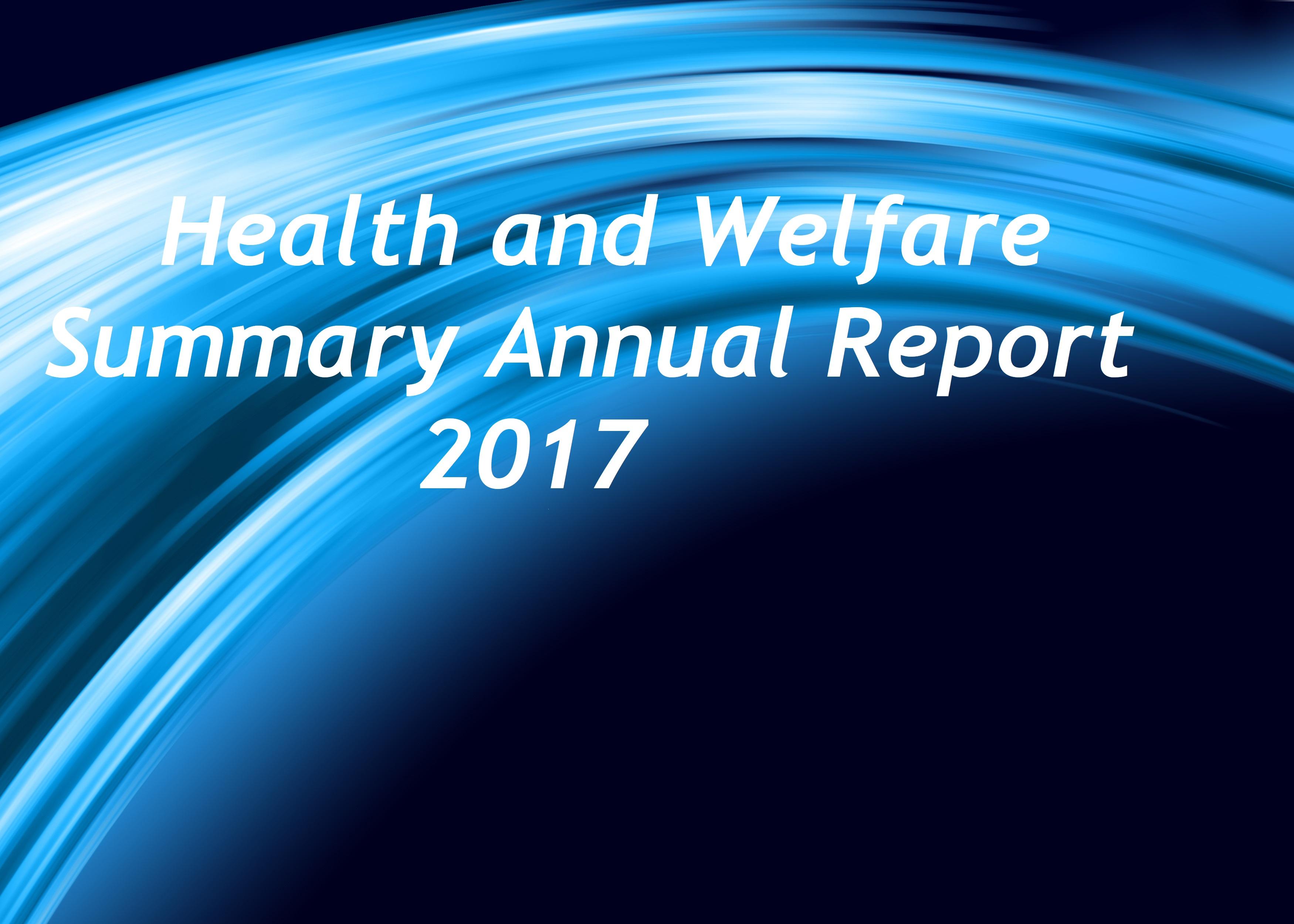 Summary Annual Report (OCU H&W Trust) Plan Year Ending 12/31/2017- October 15, 2018